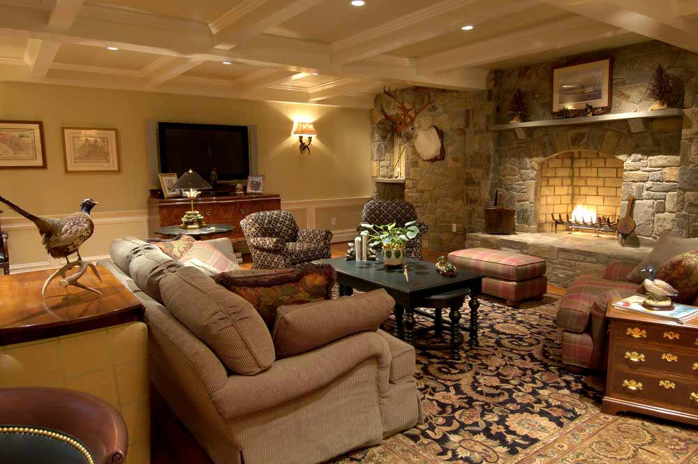 Living Family Rooms Inside Out Interiors